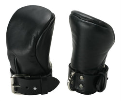 Strict Leather Deluxe Padded Fist Mitts- ML