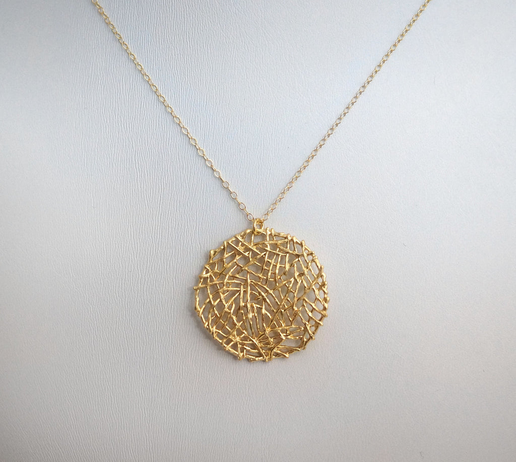 Matte Gold Mesh Chain by JG The Beaded Wire – The Beaded Wire by ...