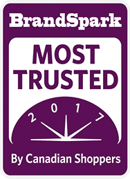 Brand Spark Most Trusted Award Badge Graphic