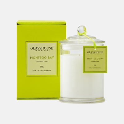 Candle - Glasshouse Montego Bay - Coconut Lime