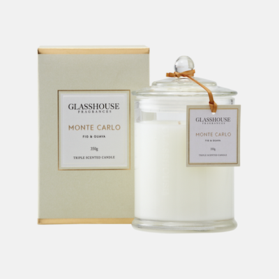 Candle - Glasshouse Monte Carlo - Fig and Guava