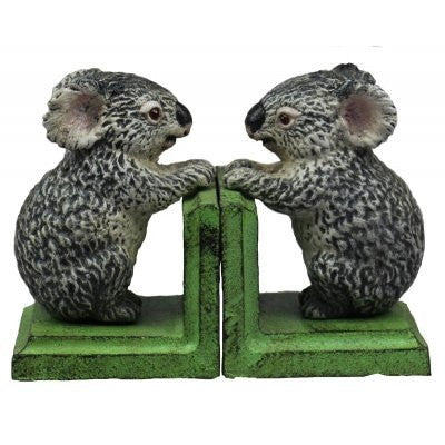 Book Ends Cast Iron  'Koala Bear'