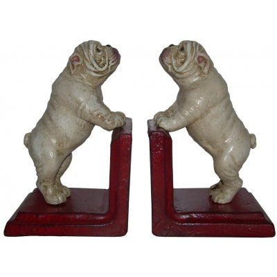 Book Ends Cast Iron 'English Bulldog'