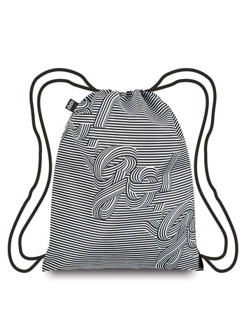Go Go Go<br>Backpack<br><br>TYPE Collection <br>© Sagmeister & Walsh