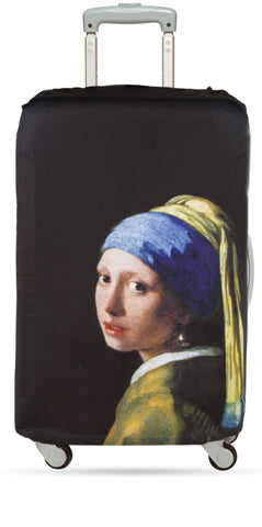 Johannes Vermeer <br>Girl with a Pearl Earring <br>Luggage Cover<br><br>MUSEUM Collection<br>© Mauritshuis, The Hague