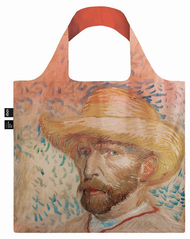 MUSEUM  Collection<br>Van Gogh <br>Self-Portrait with Straw Hat,1887<br>by ©Van Gogh Museum<br>VG.SH