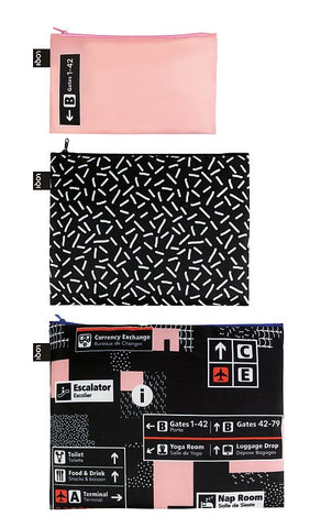 ARTISTS Collection<br>Zip Pockets<br>Airport/Icons<br>ZP.AI.IC