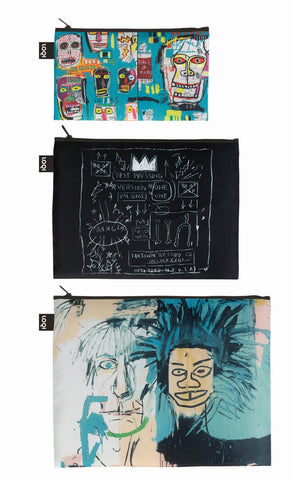 MUSEUM Collection<br>Zip Pockets<br>Jean-Michel Basquiat<br>© Jean-Michel Basquiat Foundation.Licensed by Artestar New York<br>ZP.JB