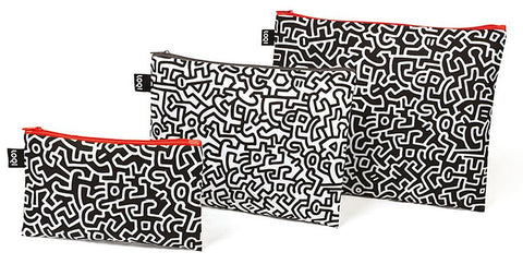MUSEUM Collection<br>Zip Pockets<br>Keith Haring<br>© Keith Haring Foundation.Licensed by Artestar New York<br>ZP.MU.KH