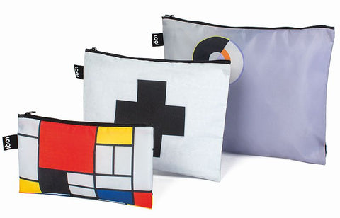 MUSEUM Collection<br>Zip Pockets <br>Mondrian<br>ZP.MU.MO