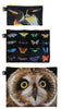 NATIONAL GEOGRAPHIC<br>Zip Pockets<br>Owl,Butterflies,Penguins<br>PHOTO ARK ™ and © Joel Sartore, © 2020 National Geographic Partners, LLC.<br>ZP.NG.OP