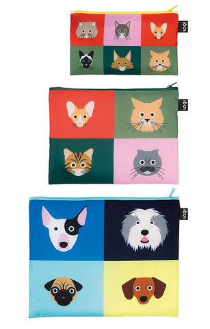 ARTISTS Collection<br>Zip Pockets<br>Stephen Cheetham/Cats&Dogs<br>ZP.SC.CD