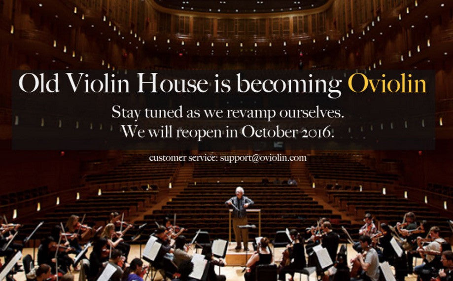 Old Violin House becomes Oviolin.com