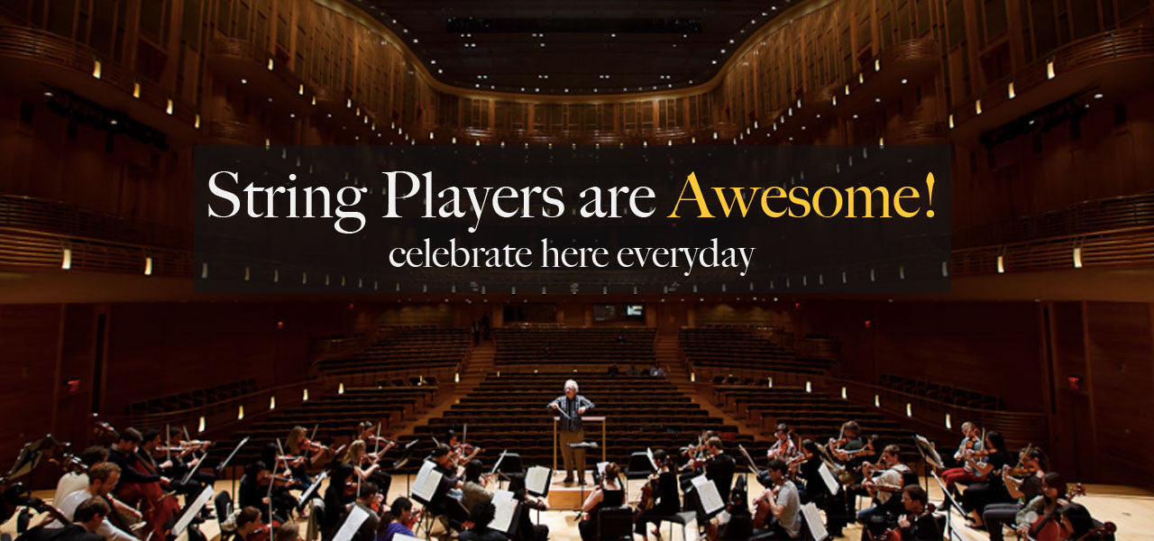 string players are awesome