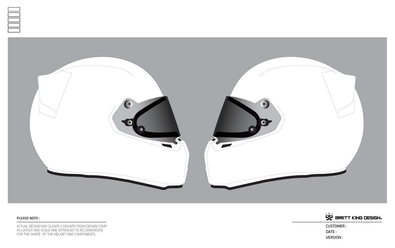 Brett King Design — Helmet Templates
