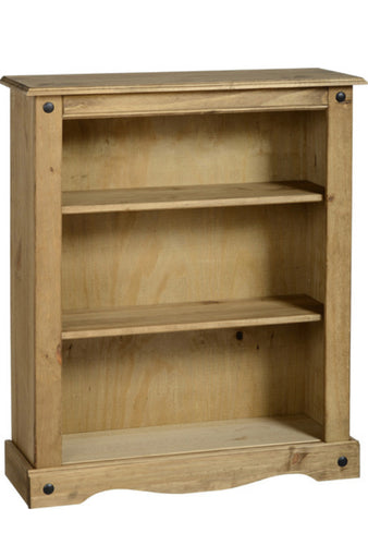 Corona Mexican low bookcase