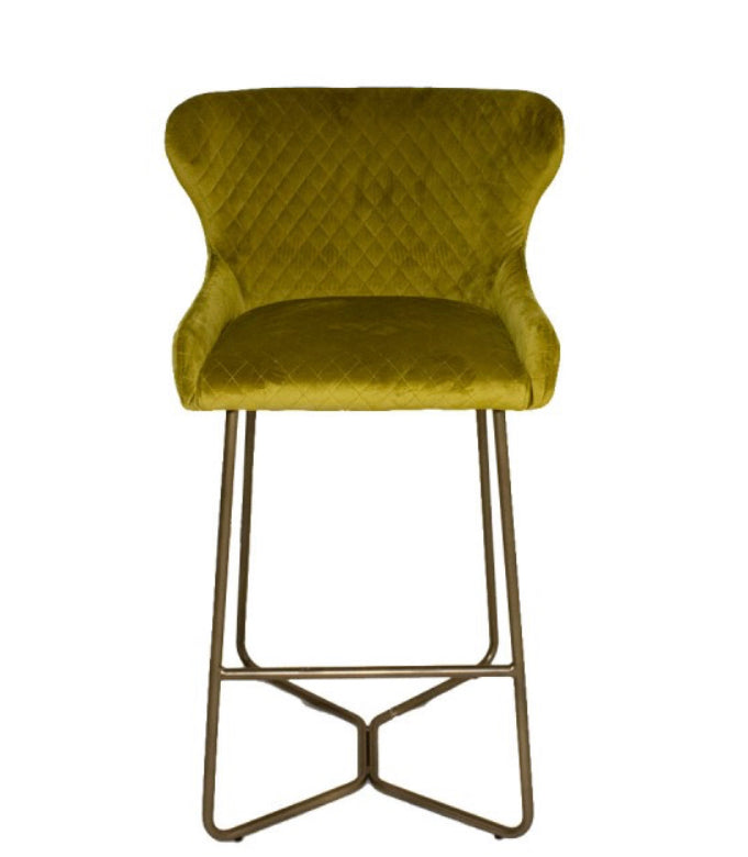 Carla bar stool in Lime