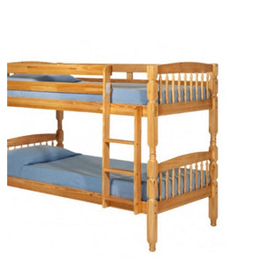 Alex bunk beds in pine