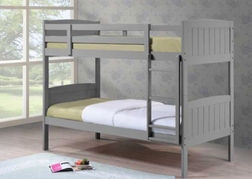 Cassie 3ft grey bunk beds