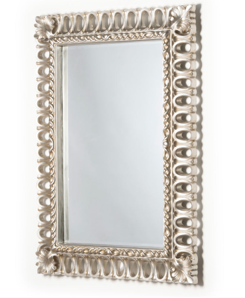 Reflections champagne rectangular mirror