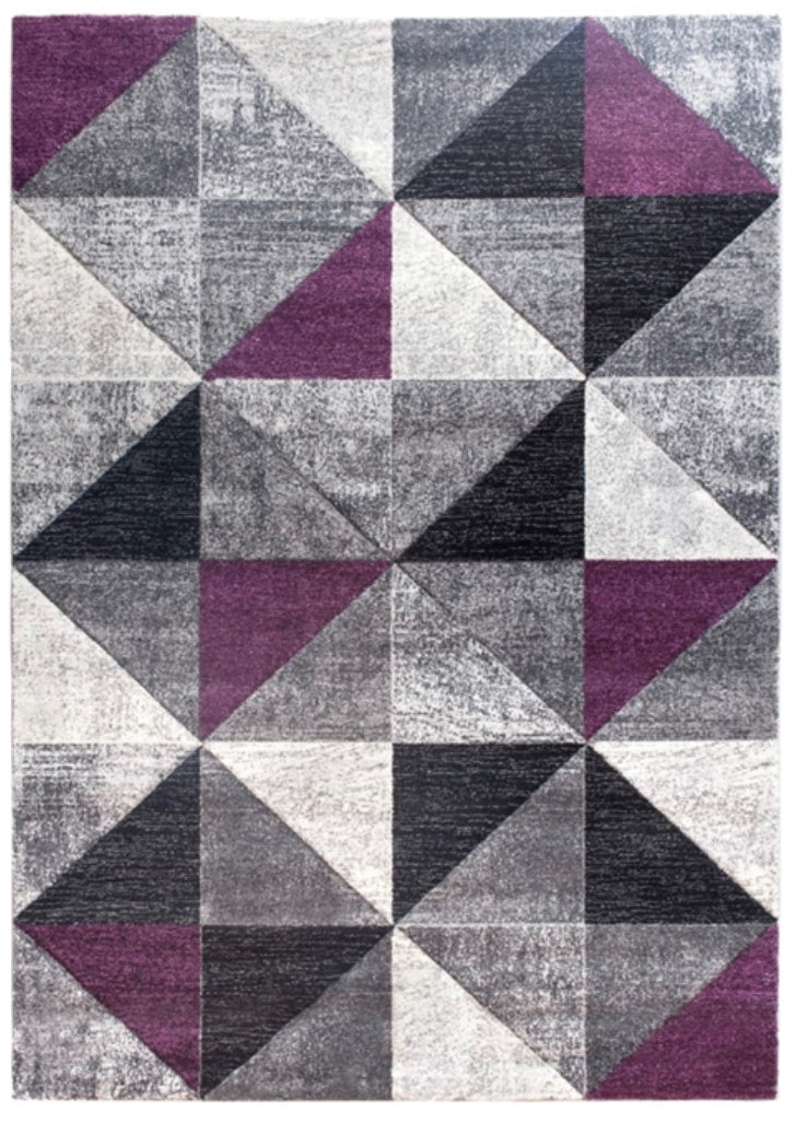 Impulse Triad Purple Rug