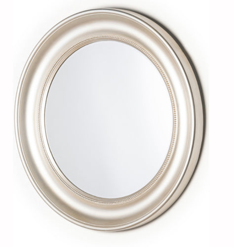 Reflections champagne round mirror