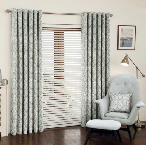 Orton mineral eyelet curtains