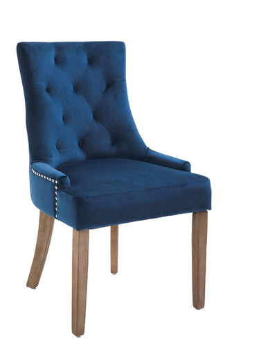 Sandy dining chair in navy