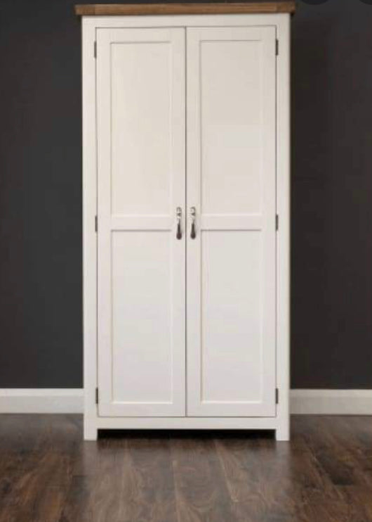 Manhattan cream and oak Wardrobe