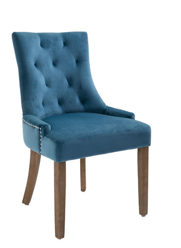 Sandy dining chair in teal