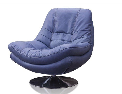 Axis swivel chair in blue