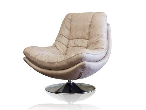 Axis swivel chair in light grey