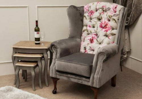 London accent chair