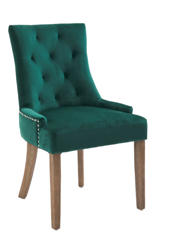 Sandy dining chair in green