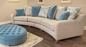 Jody curved 4 seater couch