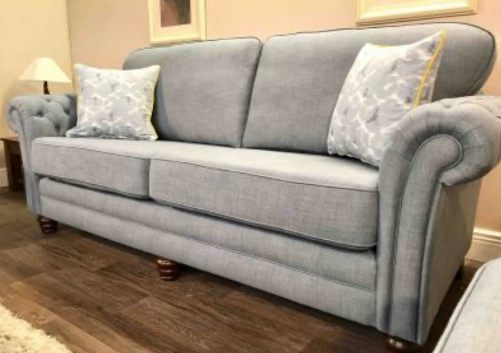 Royal fabric 3 seater