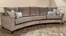 Load image into Gallery viewer, Jody curved 4 seater couch
