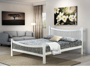 Jordan bed in white