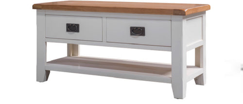 Skellig coffee table with drawers