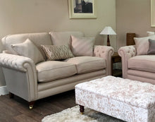 Load image into Gallery viewer, Royal fabric 3 seater