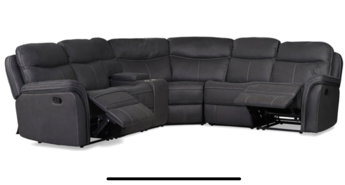 Emerson sectional reclining corner group