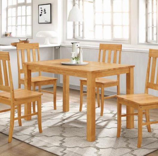 Milton light oak set