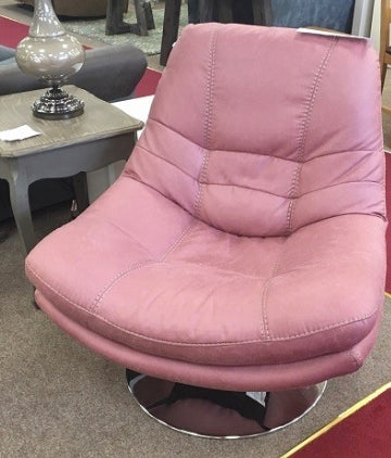 Axis swivel chair in pink