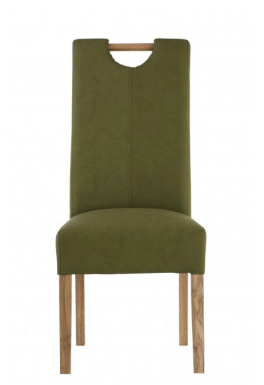 Kensington dining chair in sage green