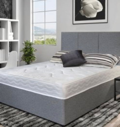 Essentials grey divan set