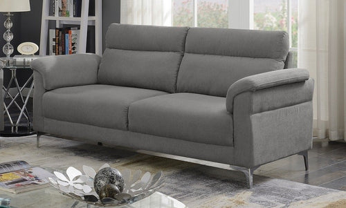 Roxy 3 seater fabric couch