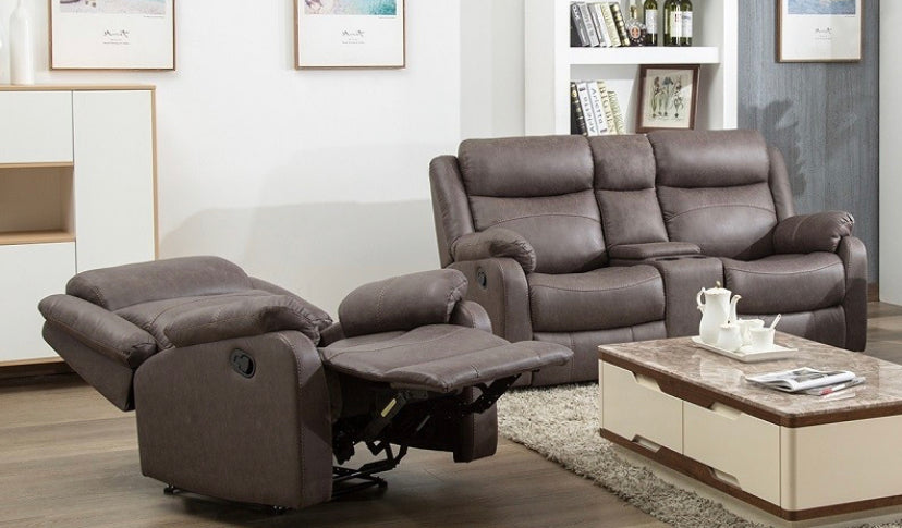 Erica fabric reclining suite