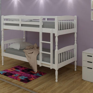 Alex bunk beds in white