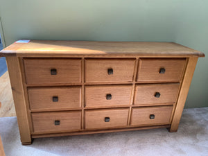 Vermont Wide chest of drawers
