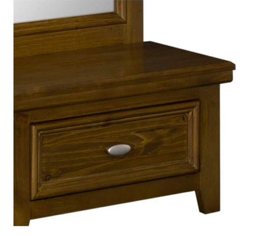 London cheval mirror with drawer